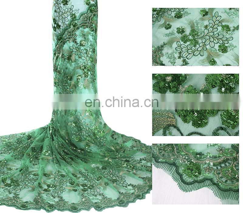 New design high quality african cotton dry lace