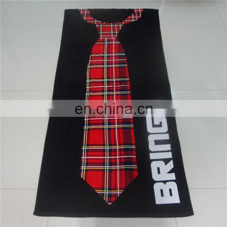 Hot Sell Wholesale Customized design 100% cotton reactive Printed Beach Towel