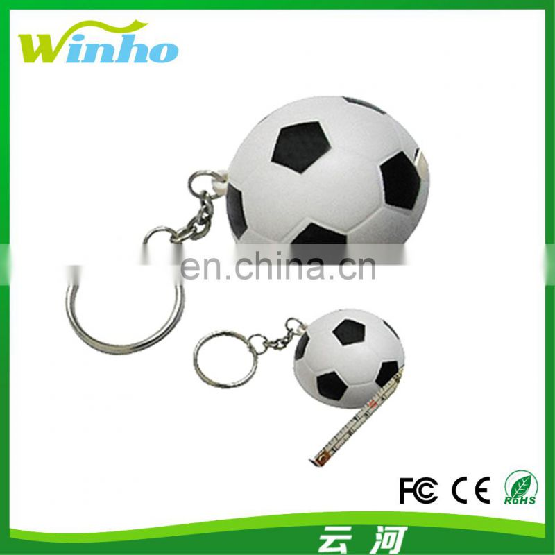 Winho Promotional Cute Fish Measuring Tape keychains