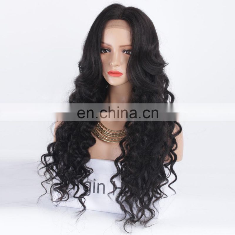 Hair wigs for black men Peruvian hair full lace wig