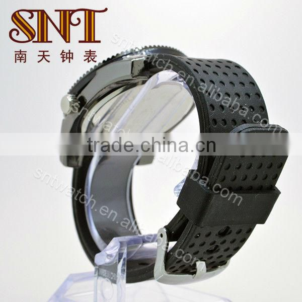 SNT-SI044 personalized silicone watch bands antique quartz silicone watch