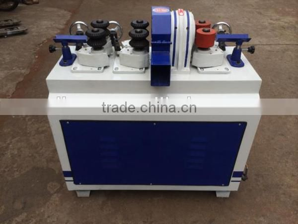 Round wood stick making machine/threaded wood rod machine to make handle