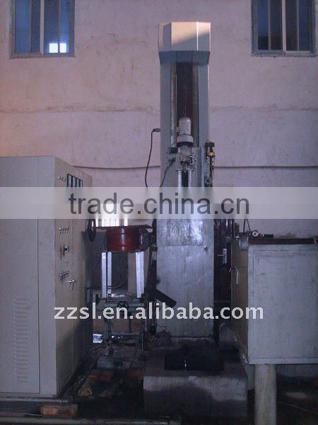 Induction quenching machine tool for all machine parts