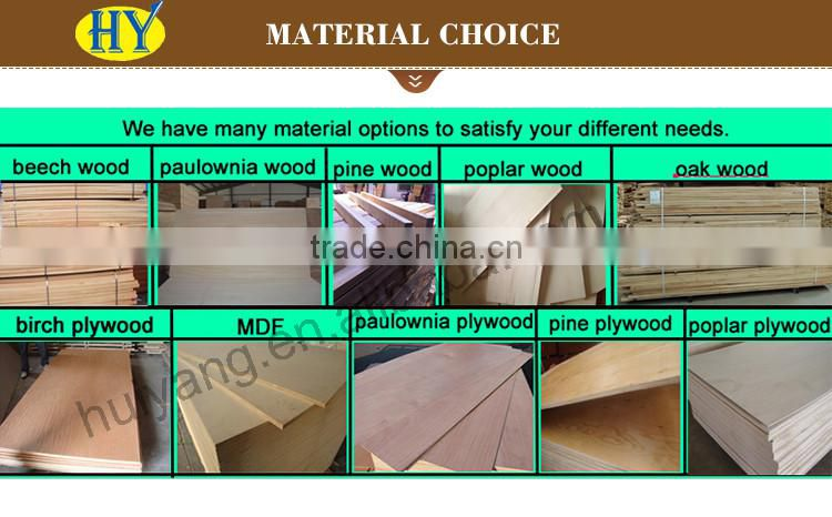 FSC house shape natural unfinished wooden craft wholesale