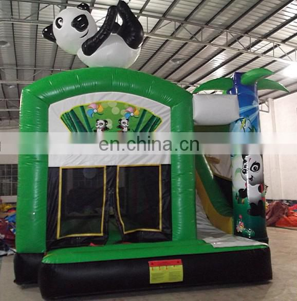 high quality inflatable panda bouncer with Chinese characteristics