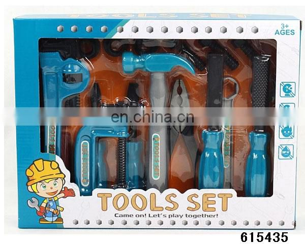 hot intelligence plastic toy mechanic tool box set for sale
