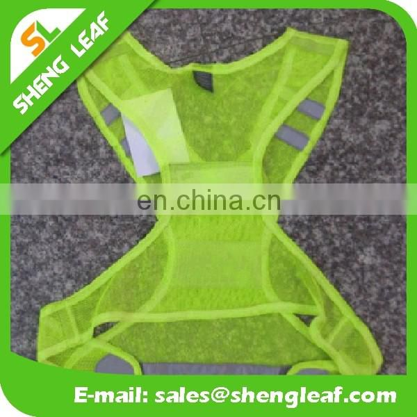 2016 Custom design of reflective vest for running