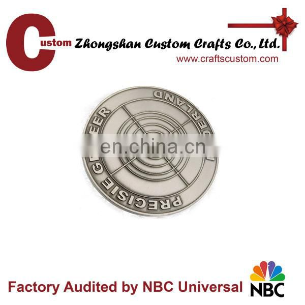 Wholesale custom cheap Fire rescue Souvenir Coin for Commemorate