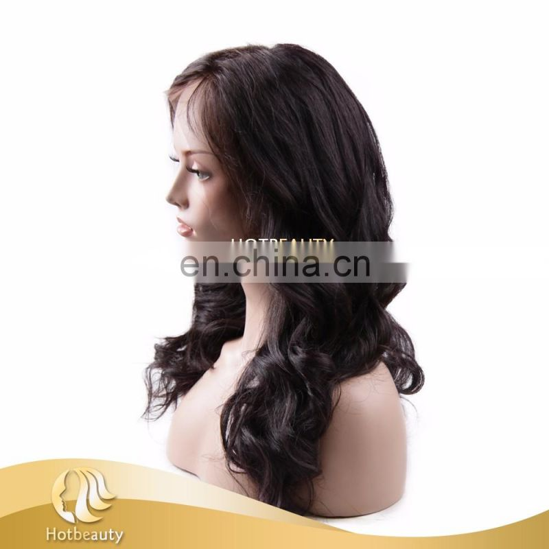 Wholesale Brazilian Virgin Hair Full Lace Wig, Hot Beauty 2017 Top Quality Best Selling Brazilian Virgin Hair