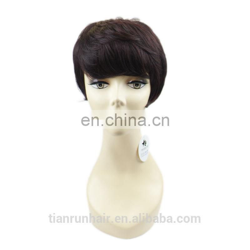 Hot sale unprocessed 5A high quality remy hair free cosplay wig