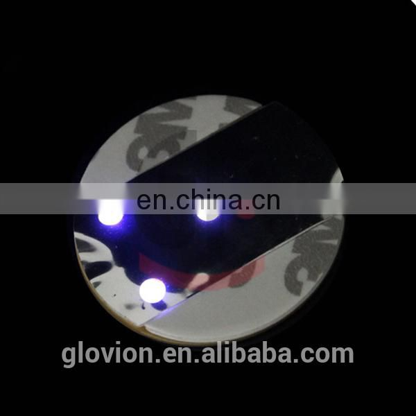 Hot sale bar LED Cup Mat glowing in dark
