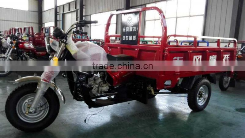 CCC ISO Certification and Open Body Type 3 wheel motorcycle trailer
