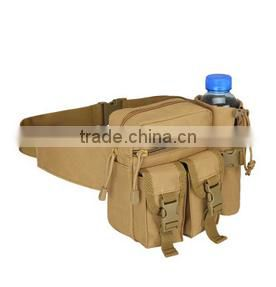 Outdoor Hiking Military Waist Bag Single Water Bottle Shoulder Holder Bags
