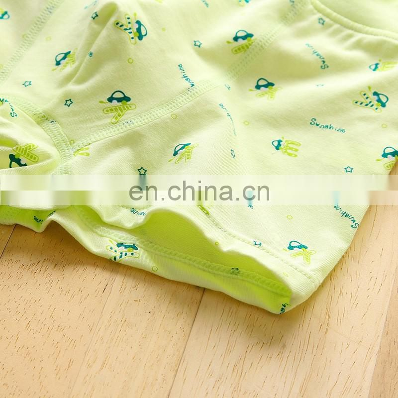 New design Cartoon Picture Teen Boy Briefs In Kids Underwear