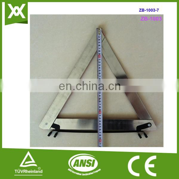 Factory made safety high visibility traffic warn reflective roadway triangle