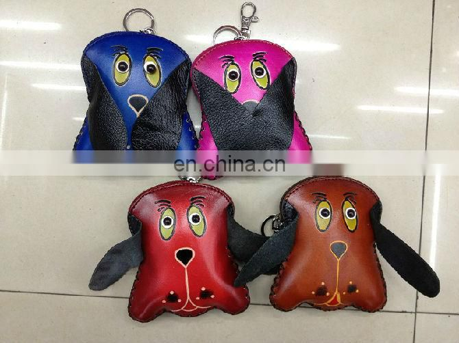 2013 Europe hot selling heart shape multi-function Genuine leather leather coin purse