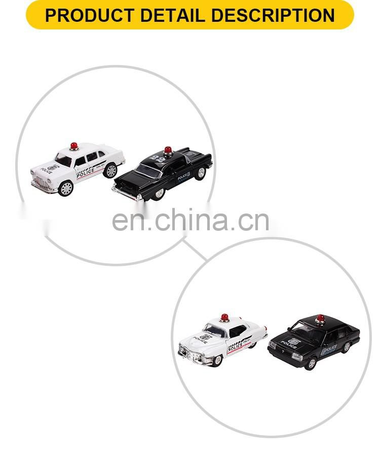 1:32 Die-cast Pull Back Toys Car 4 Designs Mix