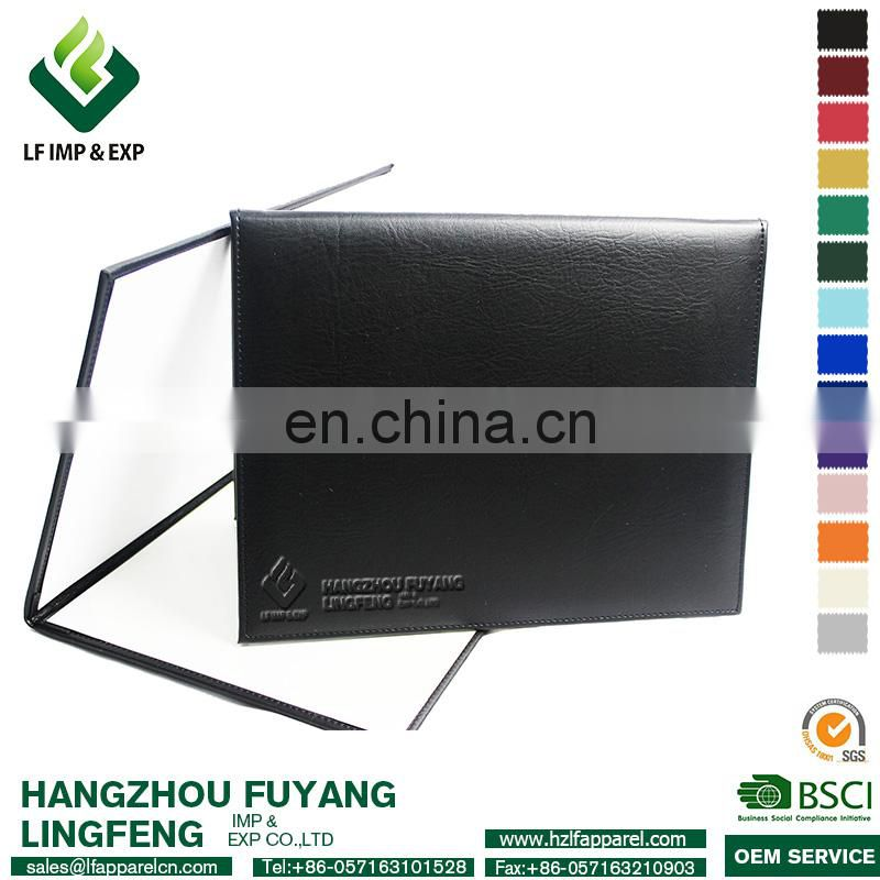 High Quality 8.5*11 PU leatherette Diploma Cover