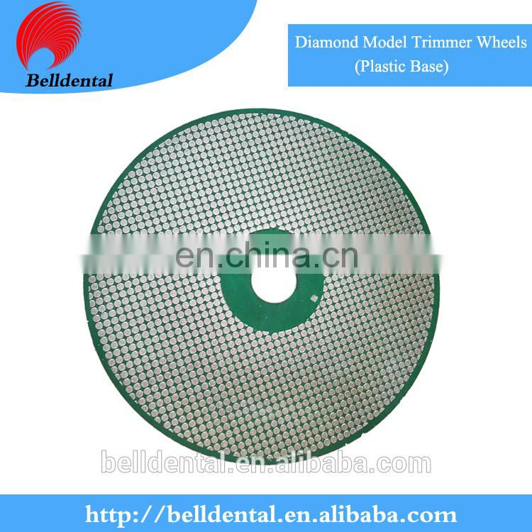 High Quality Diamond Model Trimmer Wheels (Plastic Base)