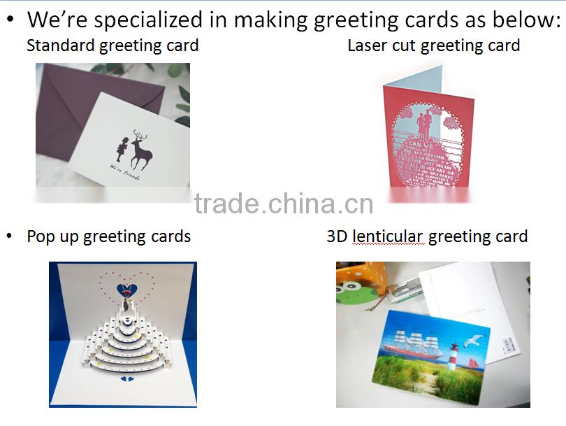 2016 Best selling factory price promotional items led/digital musical greeting cards