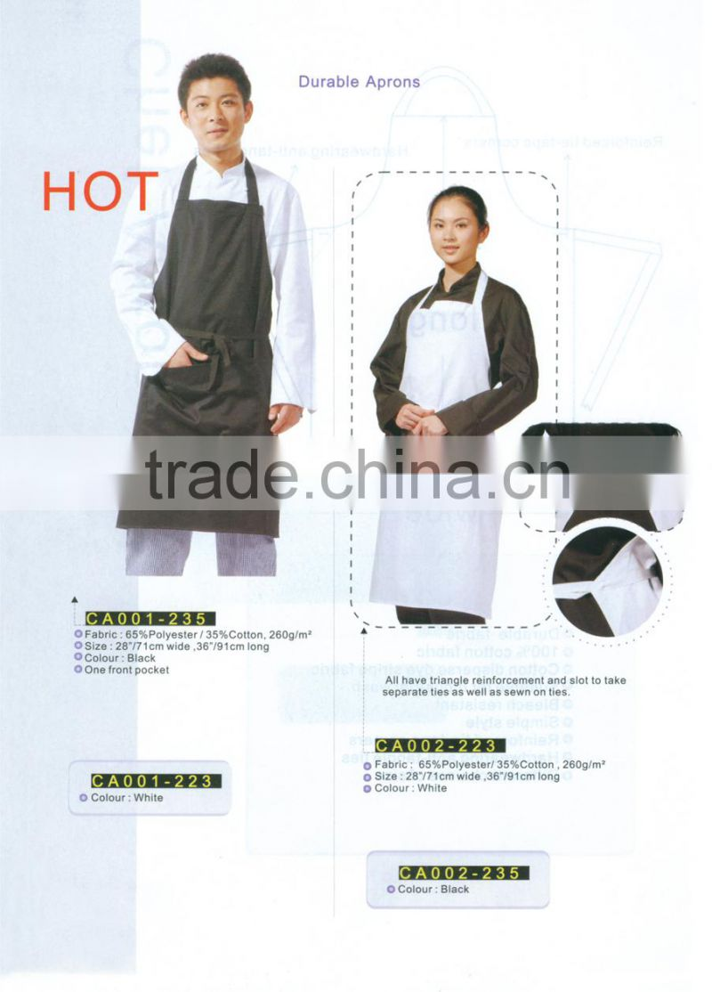 kitchen cotton apron cheap buy from china clothing factory