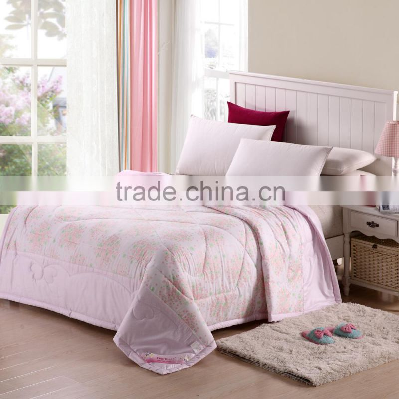 2015 modern bedroom sets wholesale colorful microfibre filling cheap used bed quilts and comforters