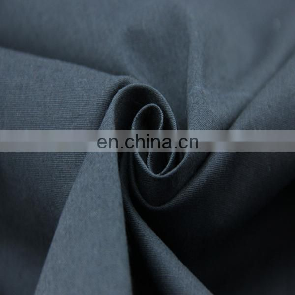 new design plain dyed dark cotton spandex poplin fabric