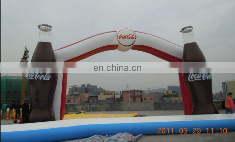 2013 Tiger's mouth advertising inflatable archway