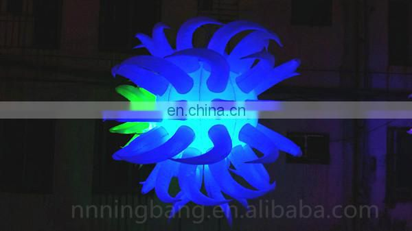 inflatable light balloon for event decoration