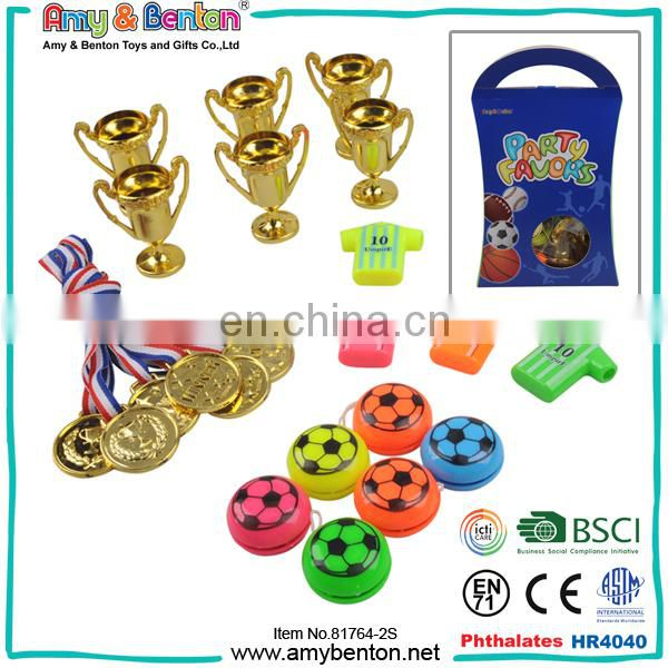 Promotional boy small toys present bag party favor