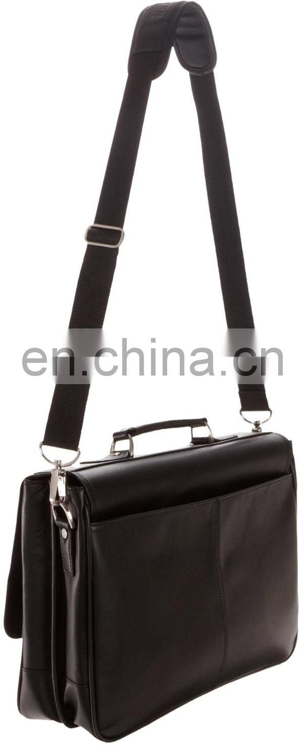 Handle Computer Leather Bag For Laptop