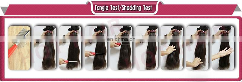 6a grade peruvian virgin/remy hair extension the best ideal hair product for you