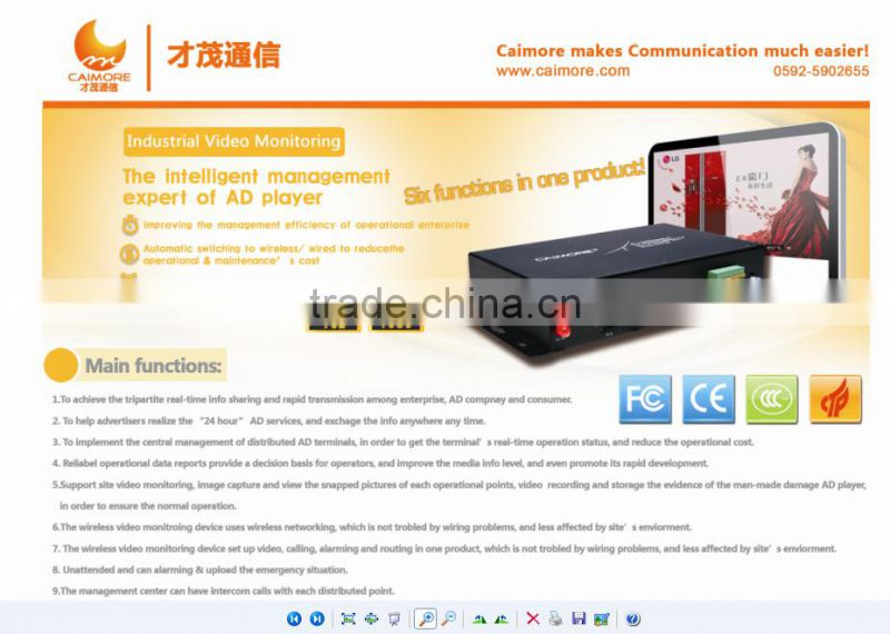 4CH IP camera MNVR to connect IP camera mnvr 720p for vending