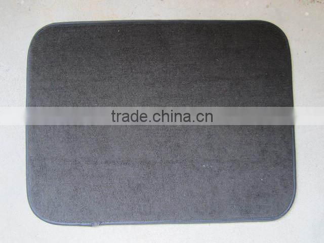 microfiber silicone drying mat