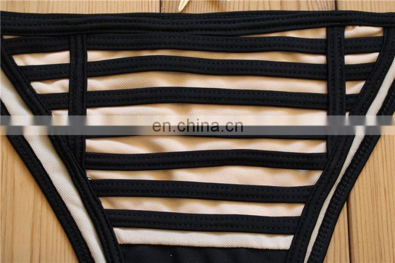 New printting sexy bikinis women swimwear models 2017