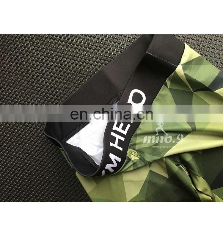 Yoga Pants stripe camouflage fitness gym Leggings for women