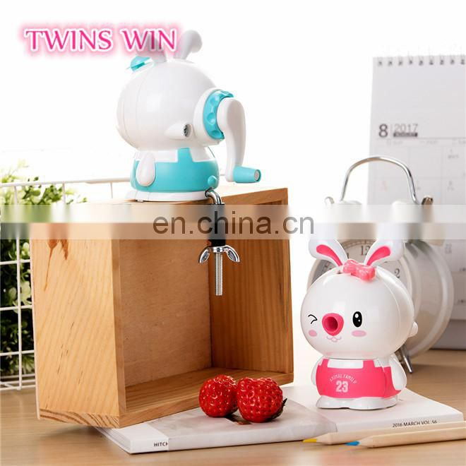 Professional Factory Supply Novelty fancy stationery Promotional unique animal shaped plastic pencil sharpener mould for kids