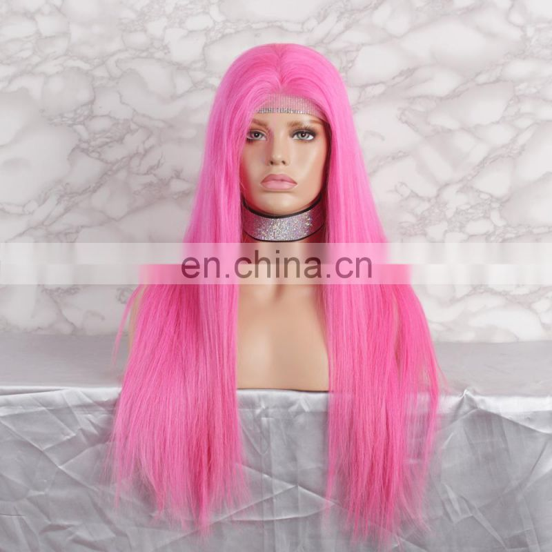 Fast Shipping Virgin Hair Customized Colored Brazilian Full Lace Wig