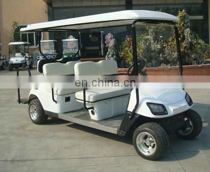 hotel/airport/station/sports ground/parkland use 6 seater electric passanger car