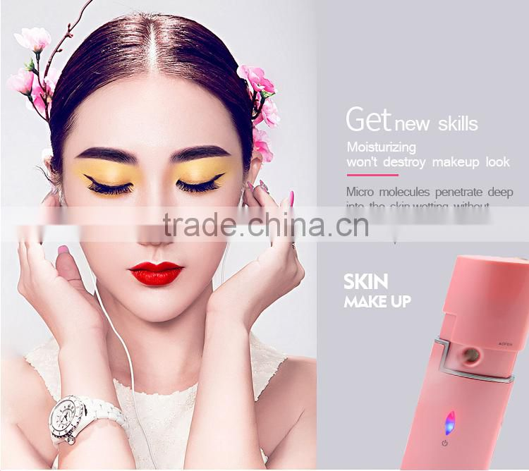 Multifunction mini facial steamer machine ibeauty nano mist sprayer