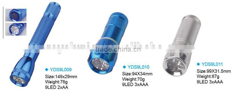 Wholesale Aluminum Torch LED flashlight for outdoor,hardware,CE,ROSH