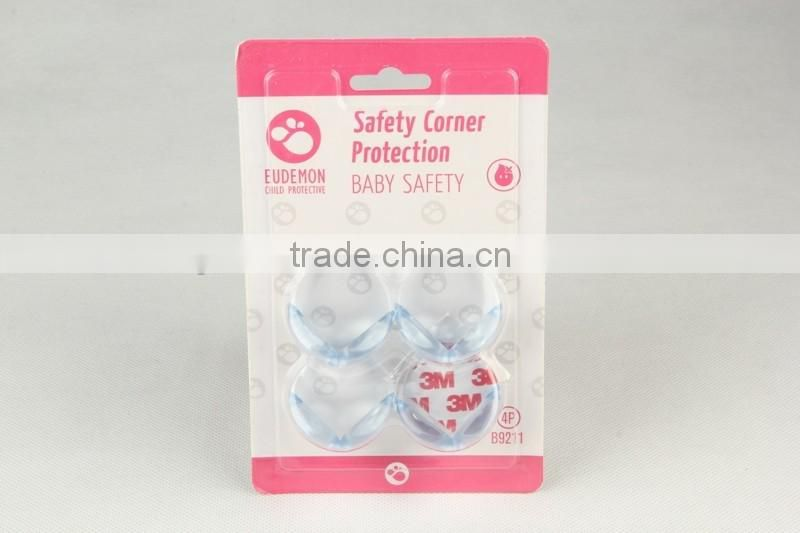 4PC Transparent safety corner cover protection, baby protection