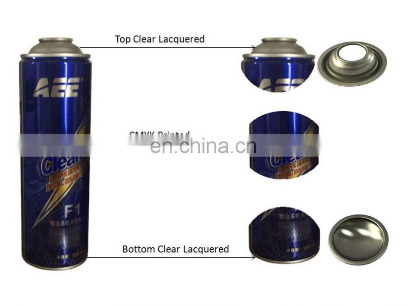 Guangzhou manufacturer supply different sizes of  normal pressure necked-in aerosol can