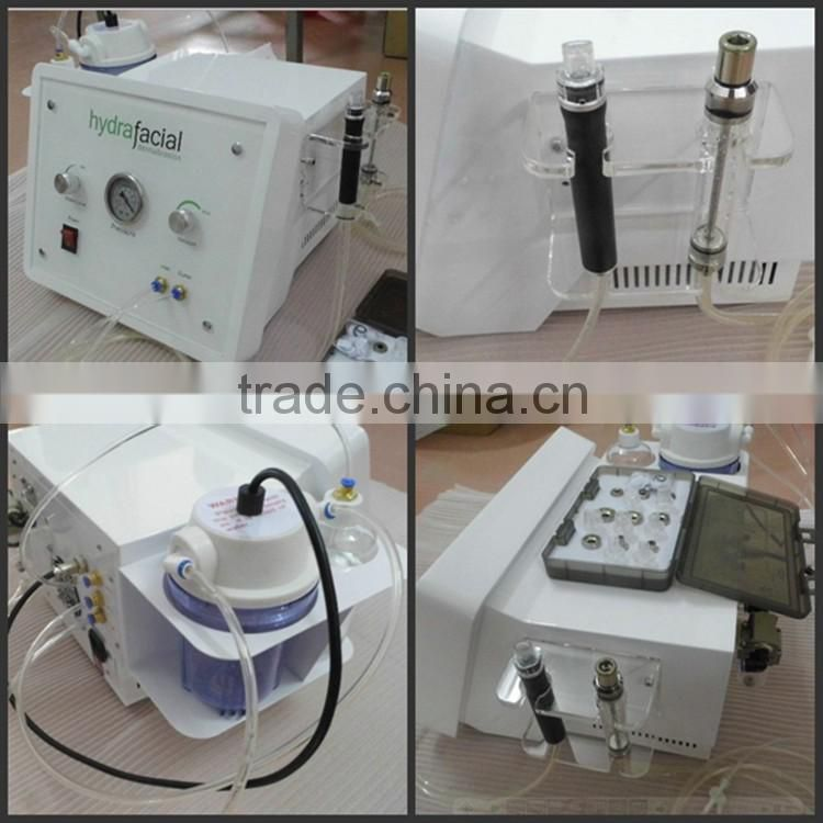 Diamond water dermabrasion for acne scars (LW-01)