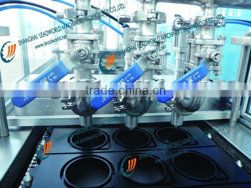 Automatic Paper cup filling sealing machine SS304 Stainless Steel