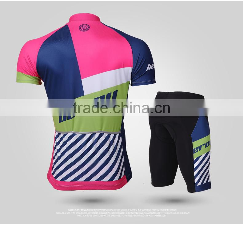BEROY Sublimation Printed Athlete Cycling Jersey Skinsuit Clothing, Riding Racing Apparel Kit