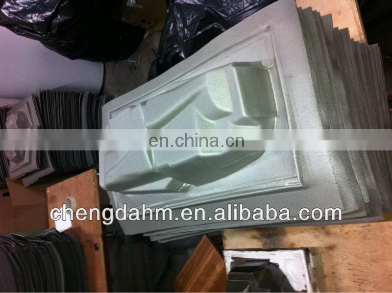 XPE foam hot compression molding for packing