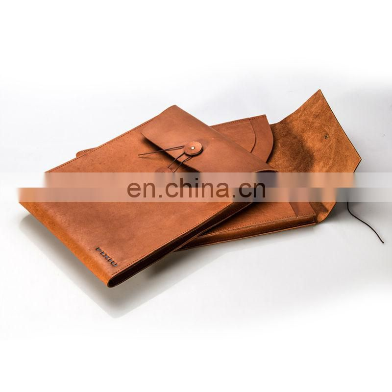 2015 Perfessional Handcrafted Custom Leather File Folder Made in China