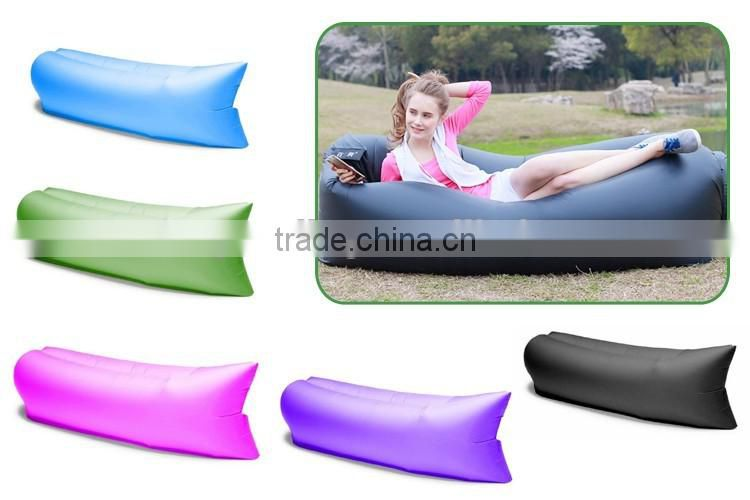 3 Season Nylon Lightweight Outdoor Lazy Inflate Air Sofa