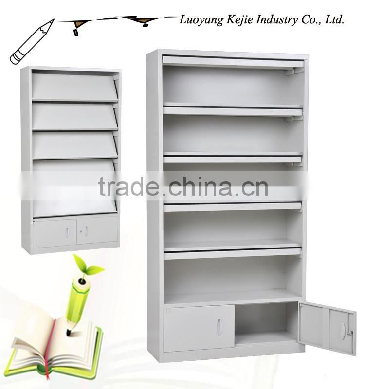 foldable magazine rack High clarity plastic newspaper stand in display rack iron magazine holder metal wire magazine rack